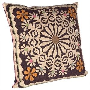 Other - Karma Living Applique Sun Kissed Throw Pillow